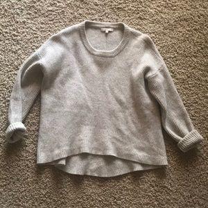Madewell Gray Wool Sweater